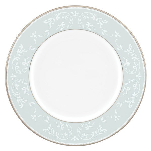 Lenox Opal Innocence Blue China 9-inch Round Accent Plate