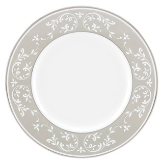 Lenox Opal Innocence Dune Accent Plate