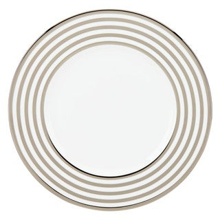 Lenox White/ Silver China Pearl Beads 9-inch Accent Plate