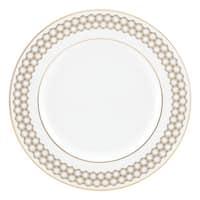 Lenox Prismatic Gold/White China Salad Plate