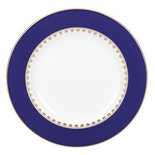 Lenox Royal Grandeur Blue, Gold, White China Salad Plate