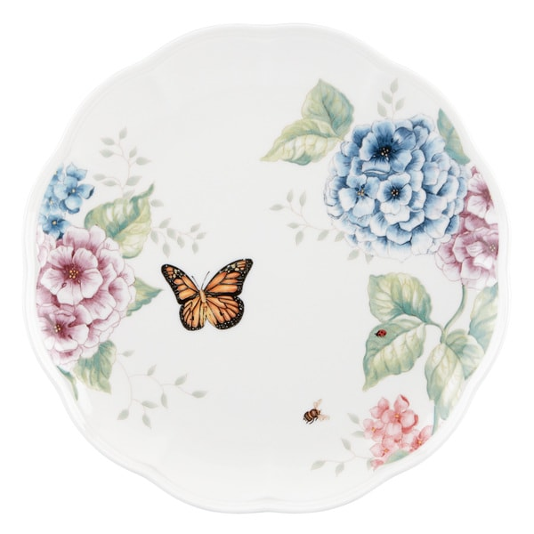 Shop Lenox Butterfly Meadow Hydrangea Dinner Plate Free