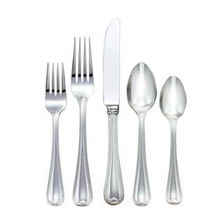 Lenox Vintage Jewel Silver Stainless Steel 5-piece Place Set