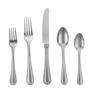 Lenox Vintage Jewel Frosted Stainless Steel 5-piece Flatware Set