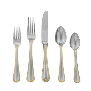 Lenox Vintage Jewel Gold 5-piece Flatware Place Set