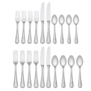 Lenox Vintage Jewel Silver Stainless Steel 5-piece Flatware Place Setting (Service for 4)|https://ak1.ostkcdn.com/images/products/12172330/P19023952.jpg?impolicy=medium