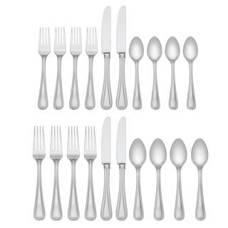Lenox Vintage Jewel Silver Stainless Steel 5-piece Flatware Place Setting (Service for 4)