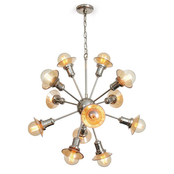 12 bulb galaxy chandelier free shipping today overstock 19023888 12 bulb galaxy chandelier aloadofball Images
