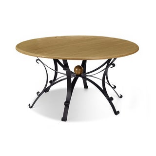 Artefama Steel 59-inch Round Dining Table