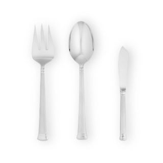 Lenox Eternal Frosted Stainless Steel Flatware 3-piece Serving Set