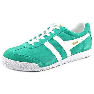 Gola Women's 'Harrier' Regular Green Suede Athletic Shoes