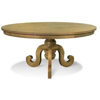 Artefama Phill Distressed Oak Round Dining Table