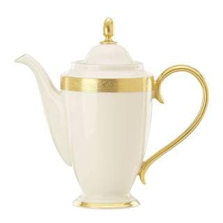 Lenox Westchester Dishwasher Safe Coffeepot with Lid