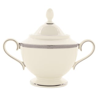 Lenox Tuxedo Platinum Sugar Bowl with Lid