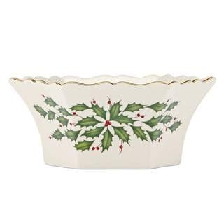 Lenox Holiday Archive Ceramic Bowl