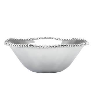 Lenox Organics Aluminum Alloy Medium Beaded Round Bowl