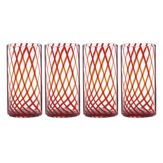 Lenox Holiday Jewel Hiball Glasses (Pack of 4)