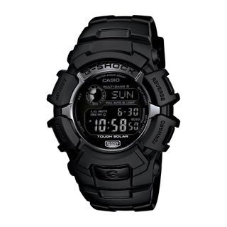 Casio Men's GW-2310FB-1CR 'G-Shock' Digital Black Resin Watch
