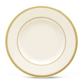 Lenox Tuxedo White/Gold China Bread/Butter Plate