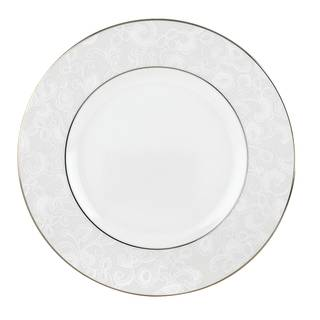 Lenox Venetian Lace Silver China Accent Plate