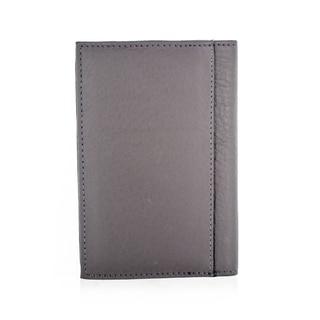 Faddism YL Simple Series Men's Brown Leather Bi-fold Wallet