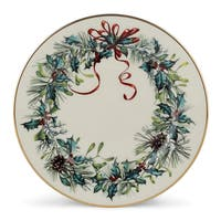 Lenox Winter Greetings Ivory China/24k Gold Butter Plate