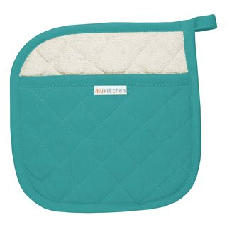 MUkitchen Surf 100-percent Quilted Cotton 9-inch x 9-inch Pot Holder