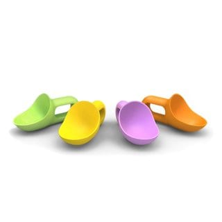 Prepara Super Scooper Assorted Colors Kids Ice Cream Scoop (Pack of 4)