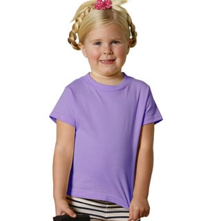 Youth Lavender Cotton Jersey 5.5-ounce Short-sleeved T-shirt