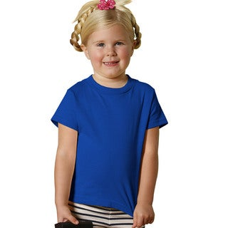 Youth 5.5-ounce Jersey Royal Blue Cotton Short-sleeve T-shirt