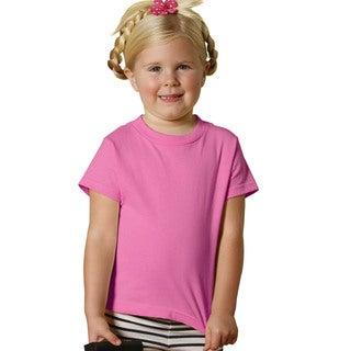 Youth 5.5-ounce Raspberry Jersey Short-sleeve T-shirt