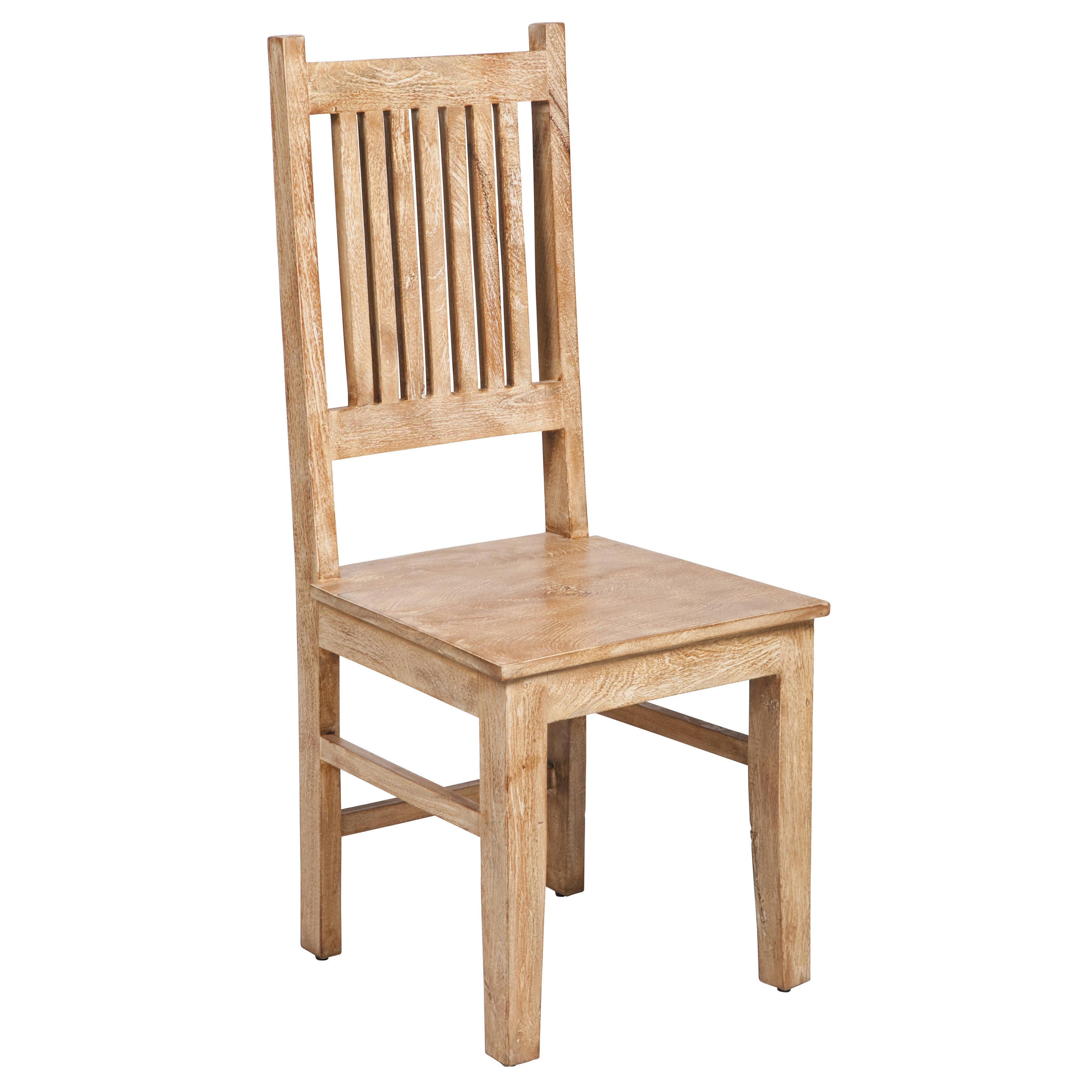 Joseph Allen Mission Mango Wood Ladder Backed Chair (Mang...