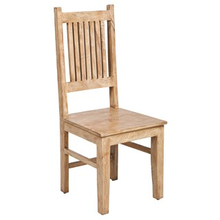 Mission Mango Wood Ladder Backed Chair