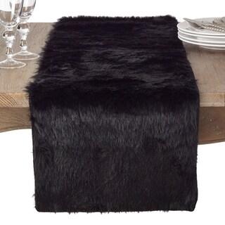 Juneau Collection Faux Fur Table Runner