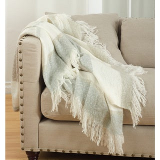 Link to Sevan Collection Faux Mohair Design Throw Blanket Similar Items in Blankets & Throws