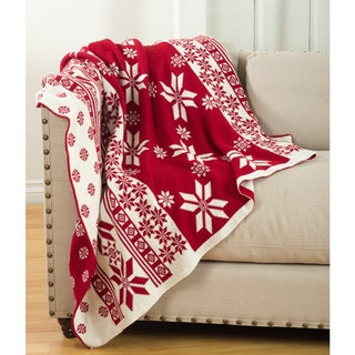 Link to Sevan Collection Knitted Christmas Design Throw Blanket Similar Items in Outdoor Decor