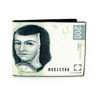 Faddism Women's YL Series Leather Zip-around Wallet