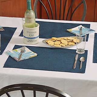 Jackson Oxford Polyester Placemats (Pack of 4)
