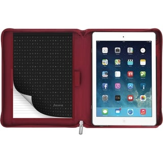 Filofax Carrying Case for iPad Air 2 - Red - Red