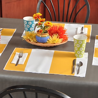 Cabana Citrus Yellow Placemats (Pack of 4)