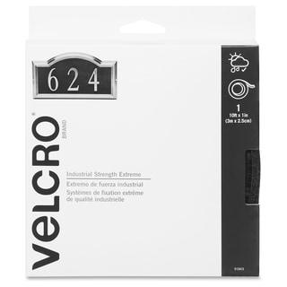 Velcro Industrial Strength Fastener Roll - Black (1/Roll)