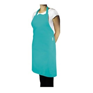 MUkitchen Surf Cotton 35-inch Adjustable Herringbone Weave Apron with Large Pockets