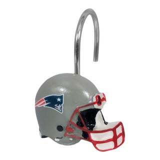 The Northwest Company  NFL New England Patriots Shower Curtain Rings (Pack of 12)