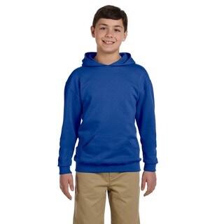 NuBlend Boys' Royal Hooded Pullover Sweatshirt