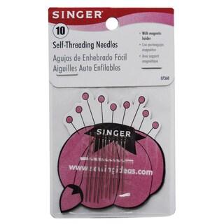 Singer 07360 Self Threading Needles 10-count