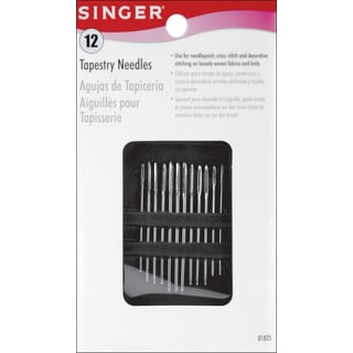 Singer 01825 Large Eye Hand Needles 7-count