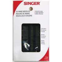 Singer 01225 Assorted Hand Needles 24-count