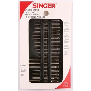 Singer 01125 Assorted Hand Needles 45-count