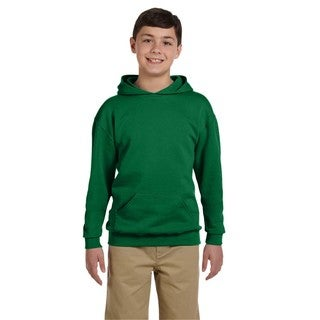 Nublend Boys' Clover Hooded Pullover Sweatshirt