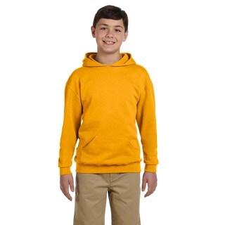 Boys Nublend Gold Hooded Pullover Sweatshirt